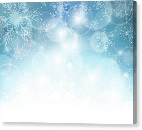 Christmas Background Canvas Print by Adyna