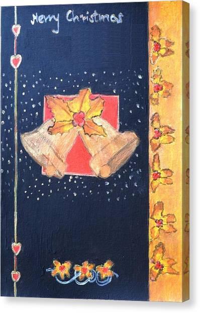 Christmas Bells Canvas Print