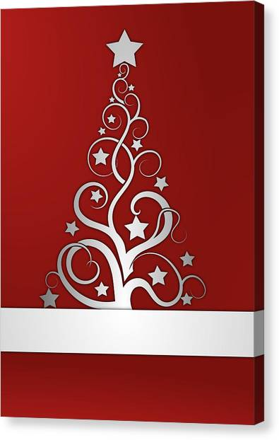 Christmas Card 23 Canvas Print