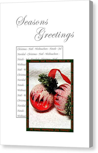 Christmas Decoration 1 Canvas Print