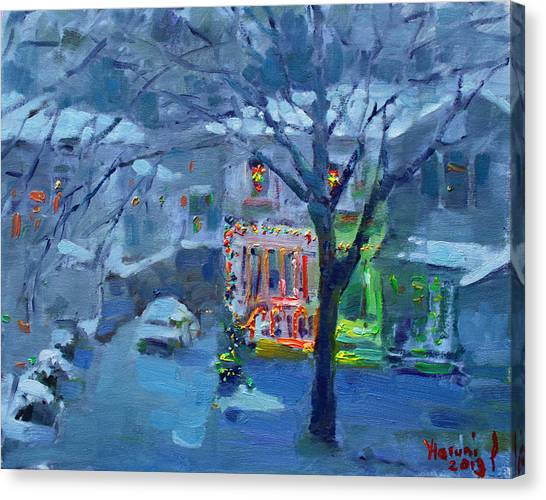 Ontario Canvas Print - Christmas Eve by Ylli Haruni