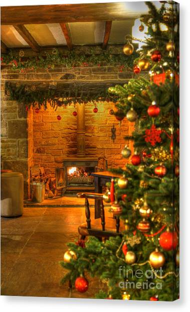 Christmas Glow Canvas Print