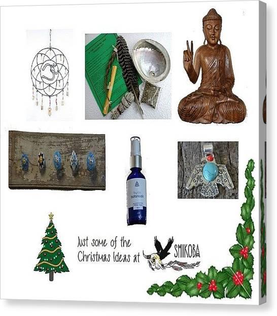 Om Canvas Print - Christmas Idea @_shikoba_ by Shikoba Photography