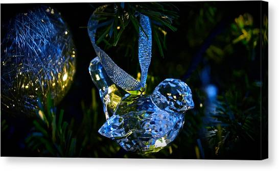 Christmas In Glass Canvas Print