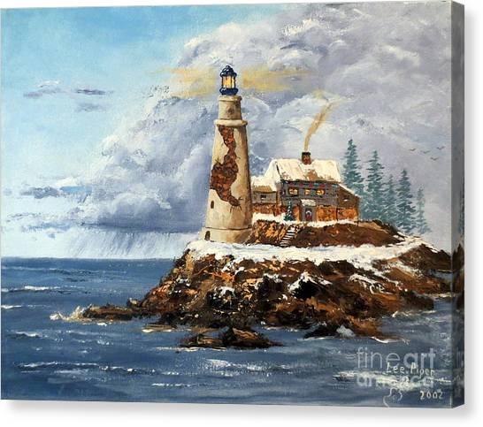 Christmas Island Canvas Print