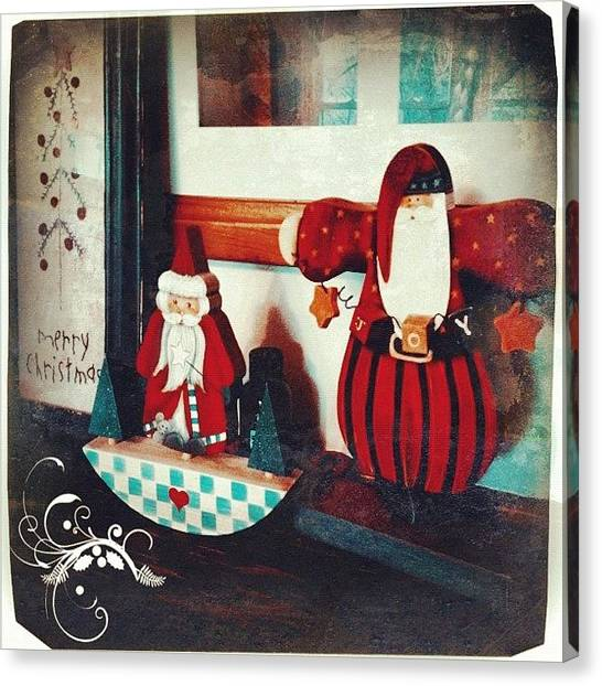 Holidays Canvas Print - Christmas Joy #phonto #altphoto by Teresa Mucha