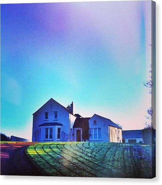 Home Runs Canvas Print - #christmas #love #home #morning #run by Klara Nelson