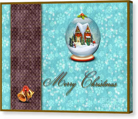 Christmas Card 13 Canvas Print