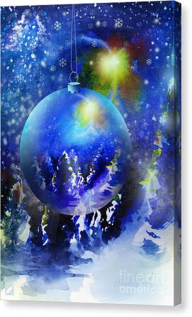 Christmas Ornament Canvas Print