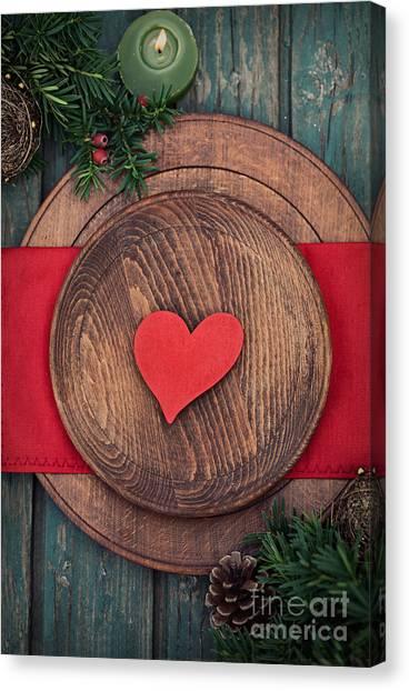 Mythja Canvas Print - Christmas Ornaments by Mythja  Photography
