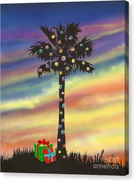 San Clemente Christmas Canvas Print