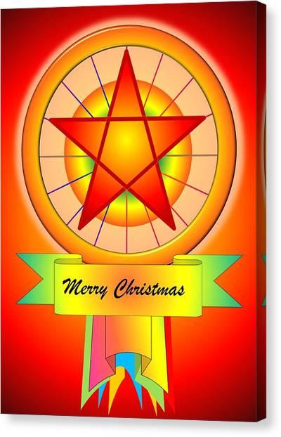 Christmas Parol Canvas Print