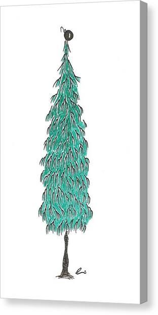 Christmas Tree 3 Canvas Print