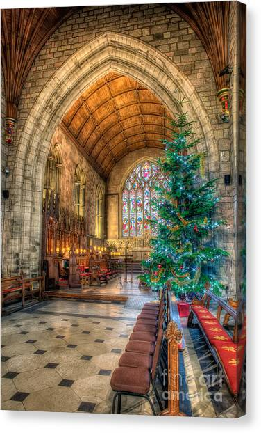 Vault Canvas Print - Christmas Tree by Adrian Evans