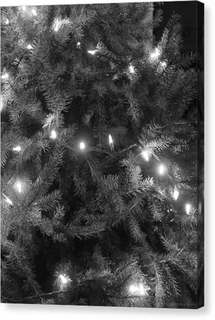 Christmas Tree Canvas Print by Anastasia Konn