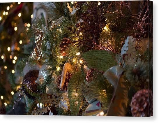 Christmas Tree Splendor Canvas Print