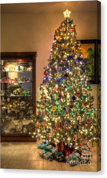 Christmas Tree Time Canvas Print