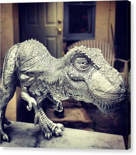 Tyrannosaurus Canvas Print - Chromasaurus Or T(rex)-1000? #trex by Dana Forte