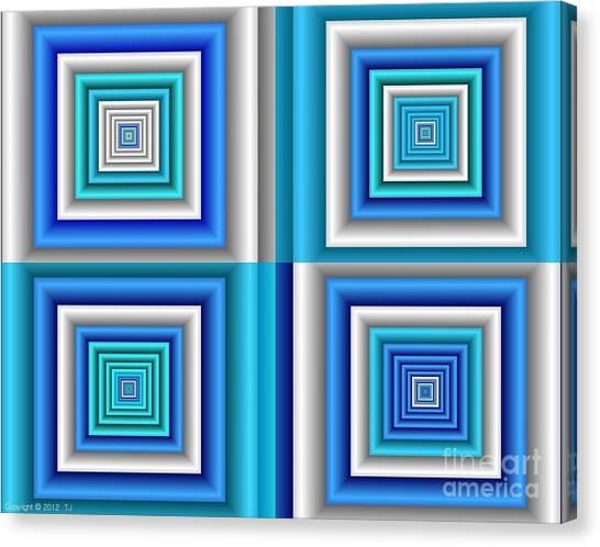 Chromodynamic  5 Canvas Print