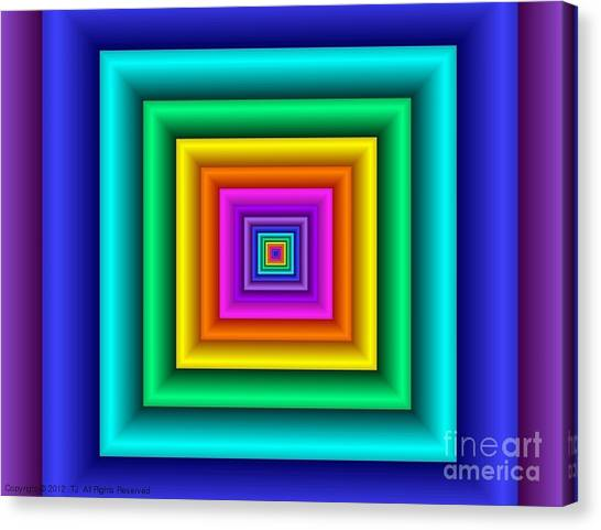Chromodynamic Canvas Print