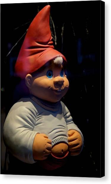 Chubby Elf Canvas Print