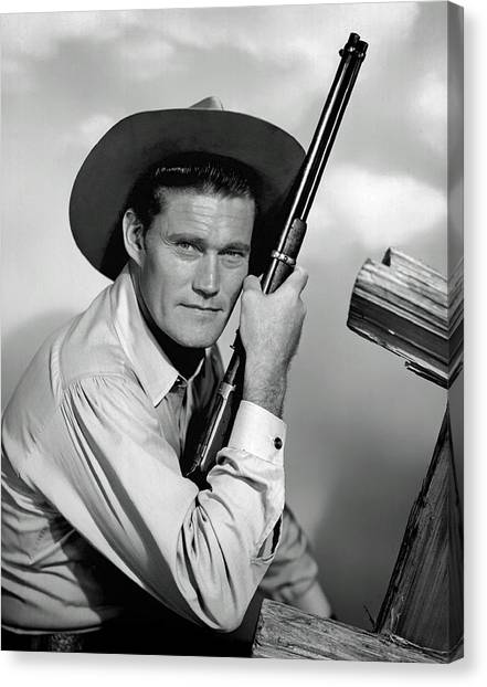 Chuck Connors - The Rifleman Canvas Print