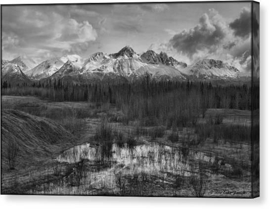 Chugach Mtn Range Canvas Print