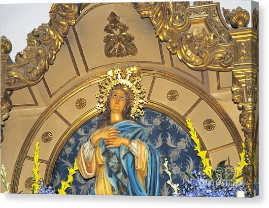 Church In Marbella Spain Canvas Print