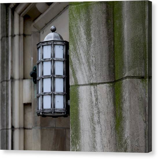 Church Lamp Canvas Print