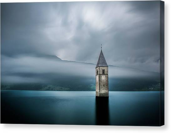 Church Canvas Print - Church Of Graun by