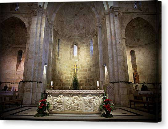 Orthodox Art Canvas Print - Church Of St. Anne by Stephen Stookey