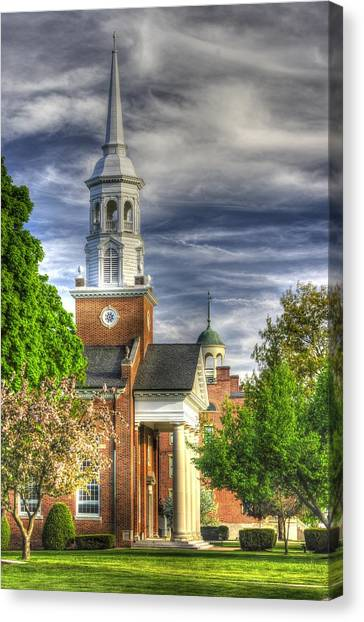 Church Of The Abiding Presence 1a - Lutheran Theological Seminary At Gettysburg Spring Canvas Print