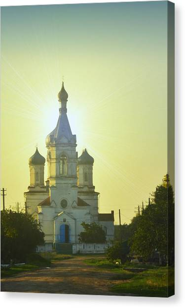 Temples Canvas Print - Church by Sonya Androsova