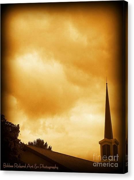 Church Steeple Canvas Print