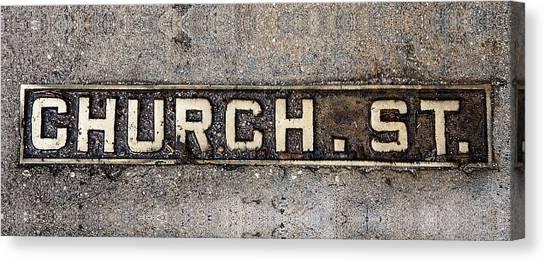 Church Street Canvas Print