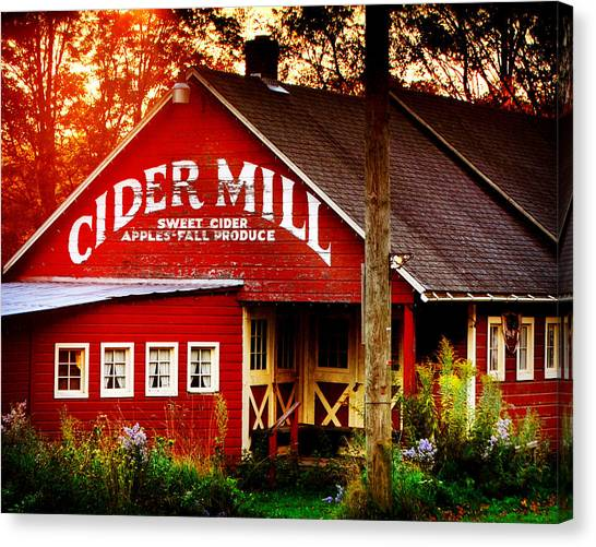 Cider Mill Canvas Print