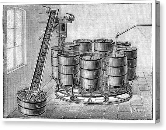 Cider Canvas Print - Cider Production by Science Photo Library