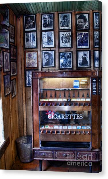 Cigarettes Canvas Print