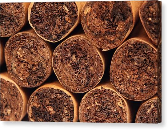 Cigars Canvas Print by Rick Rhay