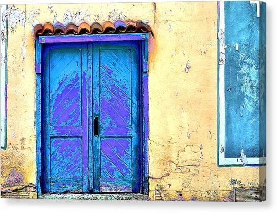 Cimarron Door Canvas Print