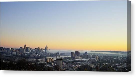 Cincinnati Dawn 2 Canvas Print