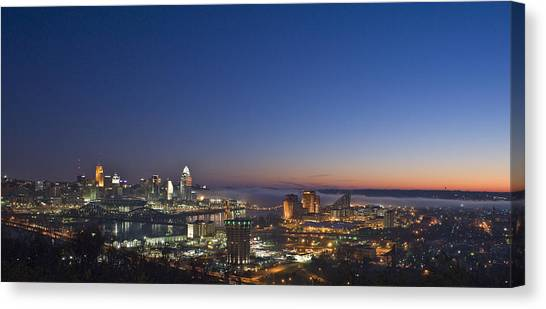 Cincinnati Dawn Canvas Print