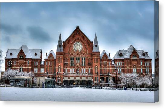 Cincinnati Music Hall Canvas Print