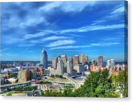 Cincinnati Skyline 2 Canvas Print