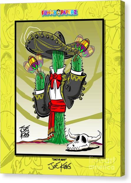 Cinco De Mayo Canvas Print by Joe King