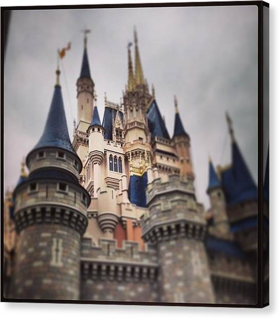Orlando Magic Canvas Print - #cinderellacastle #focus On The by James Roberts
