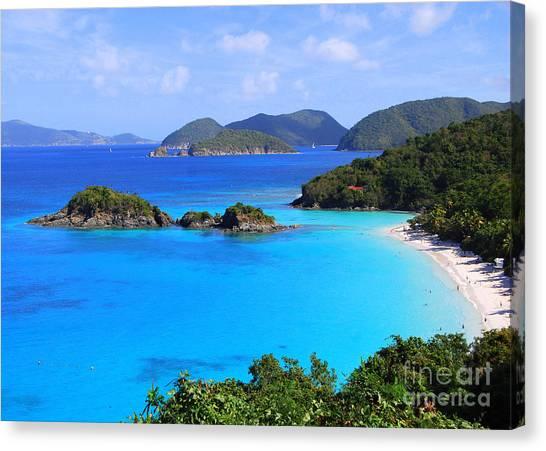Cinnamon Bay St. John Virgin Islands Canvas Print