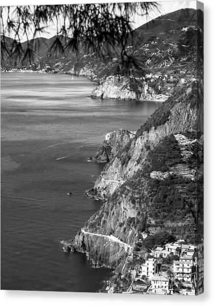 Cinque Terre Coastline Canvas Print
