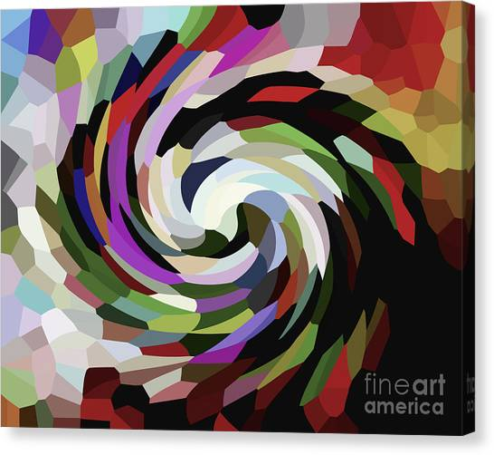 Circled Car Canvas Print