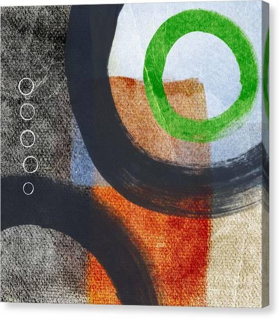 Circles Canvas Print - Circles 2 by Linda Woods
